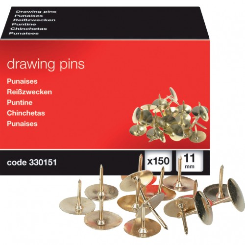 Brassed Drawing Pins